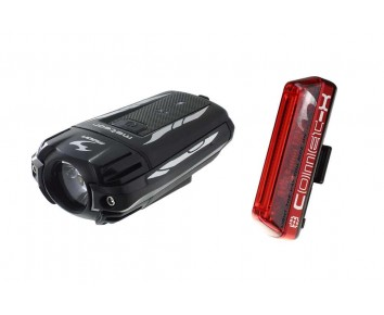 Moon METEOR & COMET-X set CREE USB Rechargeable Light Set up to 65 hours run time