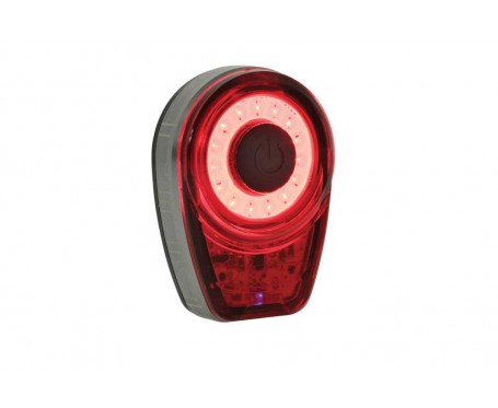 Moon Ring Cob USB Rechargeable Rear LED Rear Light 5 hours plus run time 25 Lumens with quality lense
