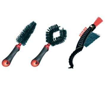 Dirtwash Brush Set (3 Brushes)