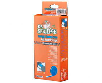 Dr Sludge Anti Puncture Tape Blue - (Touring & Racing) 700c Pair