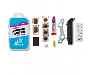 Puncture Repair Kit Outfit with Tools Weldtite
