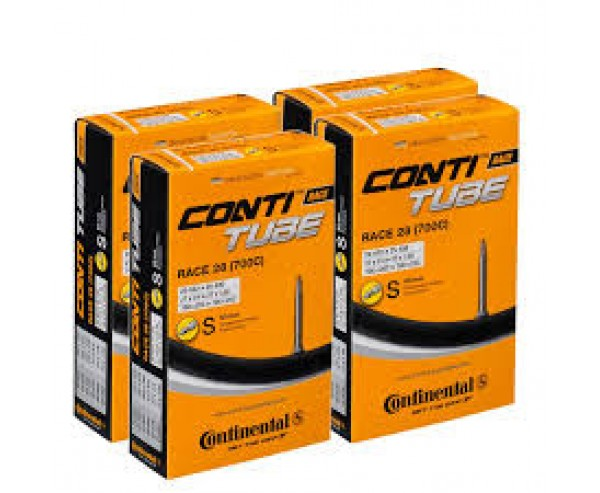 700c x 20-25 27x1 20-622 > 25-630 Continental Quality Race 28 Presta 42mm Tube x 4