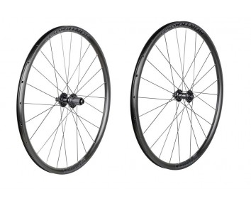 Pair of Bontrager Affinity TLR Centerlock Disc wheel 24H 700c Road Wheel front and rear