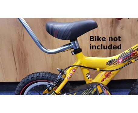 Parent Handle For Toddler Childs Or Kids Bike Seat Post