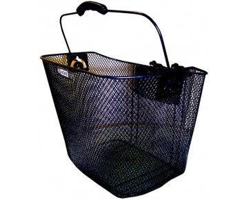 Wire Mesh Basket With Snap Fit Quick Release Fixing Bracket