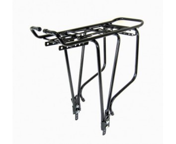 Bicycle luggage racks alloy - Pannier rack with spring top suits 26 or 700c wheels