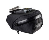 Bontrager Bag Pro Quick Cleat Seat Pack Small Black Water resistant with rear light tab and easy fitting