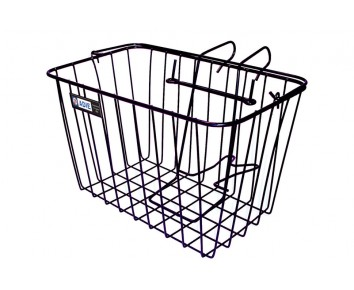 Basket Large Wire Mesh with Bracket Adie