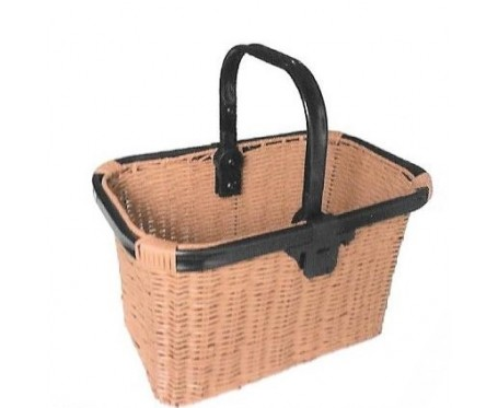 Quick Release Wicker Style Basket