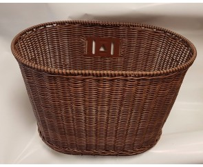 Pendleton style wicker basket Wire framed for extra strength Bicycle Bike Front fitting