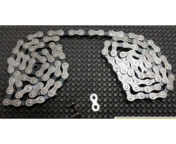 5/6/7 Speed Bicycle Chain (for MTB/Road/Hybrid Bike) & Split Link