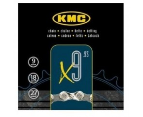 9 Speed Chain KMC X9.93
