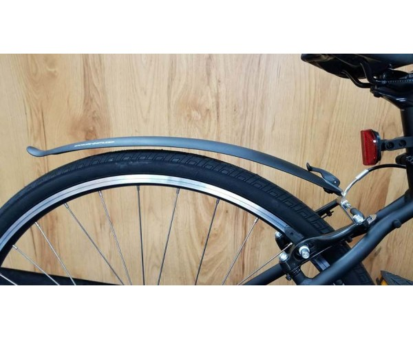 "Mudguards Clip on quick release Rear for 700C 28"" Hybrid bikes"