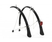 Mudguards full length raleigh elements 700c road 35mm wide