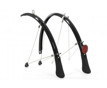 Mudguards Full Length Raleigh Elements 700 Hybrid 45mm wide