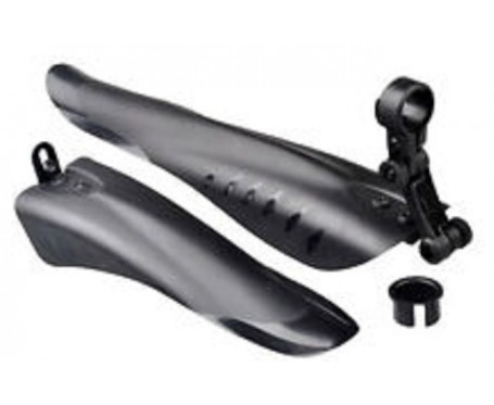 "ATB & TRAIL BIKE CLIP ON MUDGUARDS FOR 24 - 26 - 27.5 - 29"" WHEEL"