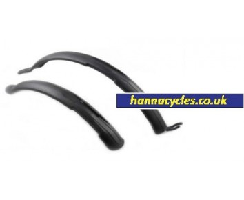 "Mudguards Clip-On 26-28"" Wheel Mountain Bike"