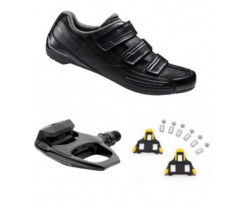 RP2 SPD-SL shoes plus Shimano R540 pedal bundle deal incs FREE cleats