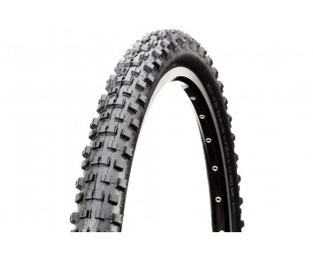 26 X2.35 EXTREME Mountain Bike Black Red Line High Traction Tyre