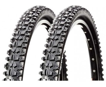 26 x1.95 CST Raleigh Mountain Bike Tyre Pair