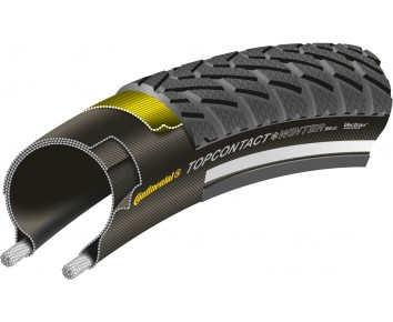 Continental top contact winter II bicycle tyre 700 x 35C ETRTO Rating (37-622)