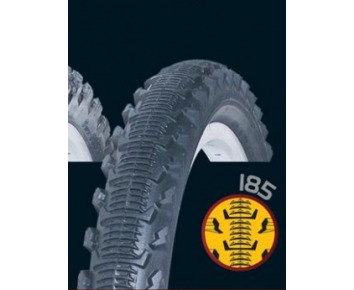 26 x1.75 Intermediate Tyre Black