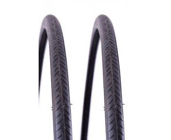 700 x23c Fast Road Bike Tyre Vee Rubber Pair + FREE Tubes