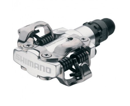 Pedals MTB or Hybrid Shimano PD-M520 MTB SPD - two sided mechanism