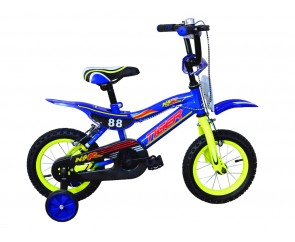 "14"" Moto 88 Boys Bike Suitable for 3 to 4 1/2 years old"