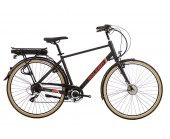 Raleigh Array Cross Bar Black Electric Bike