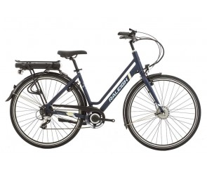 Raleigh Array Low Step Navy Electric Bike
