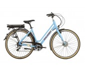 Raleigh Array Low Step Denim Electric Bike