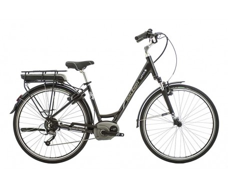 Raleigh Captus Low Step Black Electric Bike