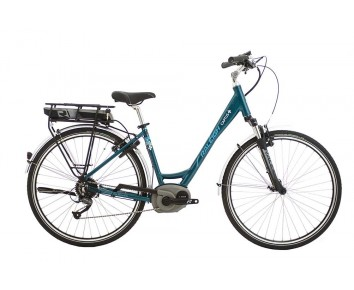 Raleigh Captus Low Step Teal Electric Bike