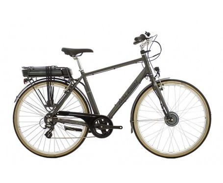 Raleigh Pioneer E Electric Crossbar Electric Bike