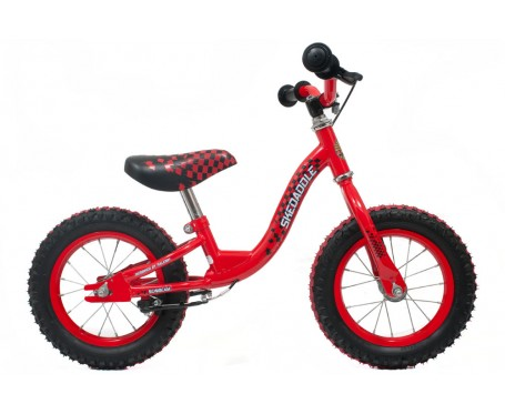 Raleigh Skedaddle Balance Bike Red