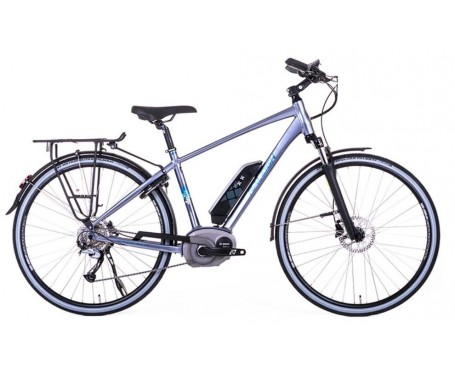 SOLD OUT Raleigh Captus Crossbar Electric Bike disc brakes and derailleur gears