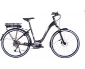 SOLD OUT Raleigh Captus Low Step Black Electric Bike derailleur gears and disc brakes