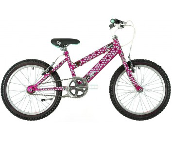 "18"" Raleigh Krush girls bike for 5 to 8 year old"