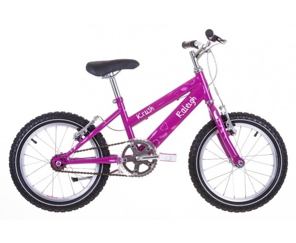 "16"" Raleigh Krush Girls Bike Suitable for 4 1/2 to 6 years old"