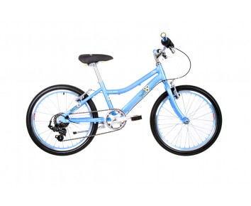 "20"" Raleigh Chic 11"" Frame Girls Bike Powder Blue 2018 for 6 to 9 years old"