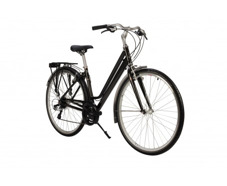 PIONEER GRAND TOUR LOW STEP 2019 BLACK COLOUR WOMENS LADIES HYBRID CITY BIKE