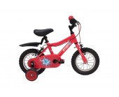 "12"" Raleigh Atom 2019 Boys Bike Red Suitable for 2 1/2 to 4 years old"