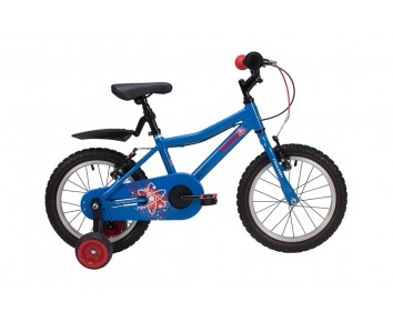 "16"" Raleigh Atom 2019 Blue Boys Bike Suitable for 4 1/2 to 6 years old"