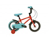 "14"" Raleigh Pop 2020 Boys Bike Red Suitable for 3 to 4 1/2 years old"