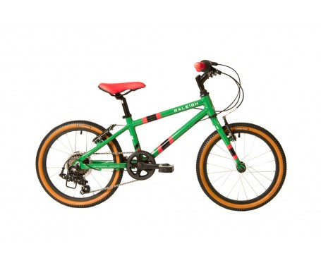 "18"" Raleigh Pop Boys Bike Green 2020 for 5 to 8 years old"
