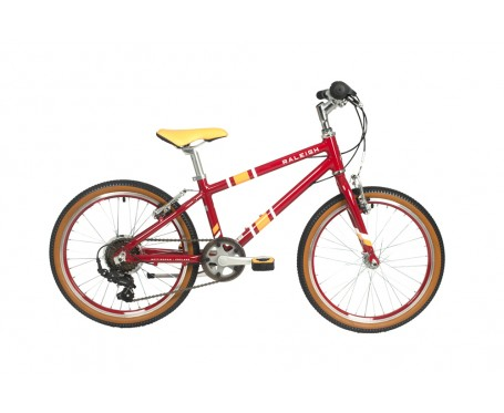 "20"" Raleigh Pop Plum Girls Bike for 6 to 9 years old"
