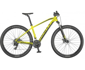 Scott Aspect 770 2021 27.5 Hardtail Mountain Bike Yellow