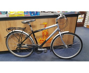 SOLD Second hand Raleigh Pioneer Metro LX gents hybrid bike SOLD