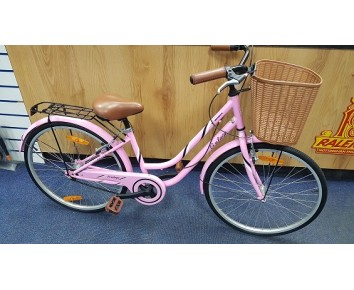 "24"" Girl Hybrid Vintage Bike Second Hand"